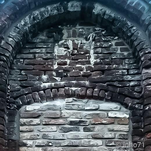 """zugemauert"" @inho71 #kings_gothic #gothic_sepulcrum #igw_sepulcrum #vd_sepulcrum #bricks #gothic_arts #the_great_gothic_world #vd_gothika #walls #fassadenfreitag #wall #entropy_to_epitaphs #etoe_2 #ethereal_moods #abandonedafterdark #renegade_abandoned #renegade_dark #grime_reapers #grime_nation #noescape #klaustrofobia"