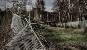 verlassenes Militärgelände